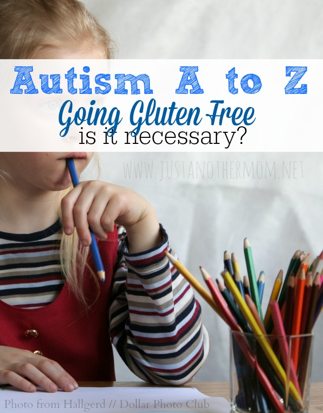 Is going gluten free necessary for an individual with autism?