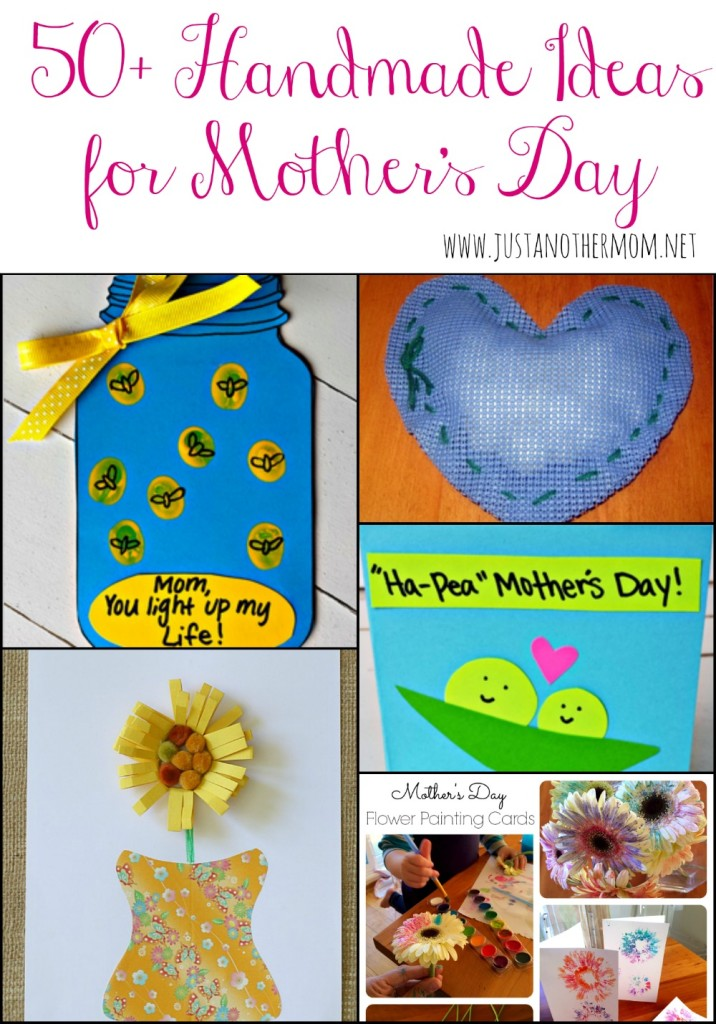 50 handmade gift ideas for mother 39 s day for Toddler craft gift ideas