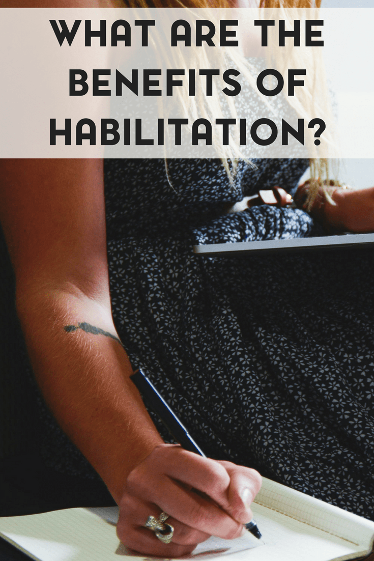 What is habilitation and how does it benefit autistic individuals?