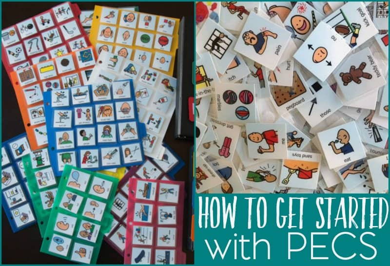 If your child has a speech or language delay, your speech therapist may suggest using PECS. But what are PECS and how do you get started with them?