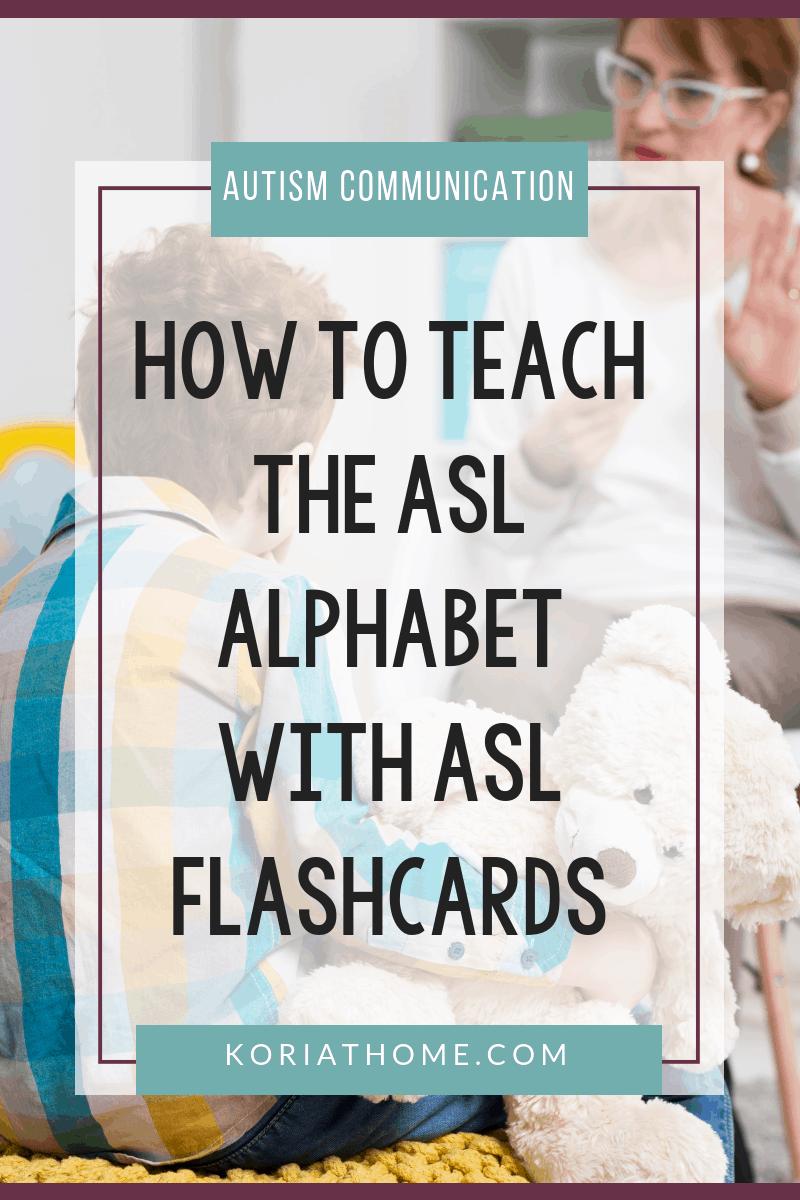 Freebie Friday: Free Printable ASL Alphabet Flashcards Pack 3