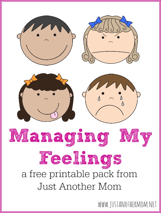 photograph regarding Free Printable Emotion Cards titled Freebie Friday: Working My Emotions