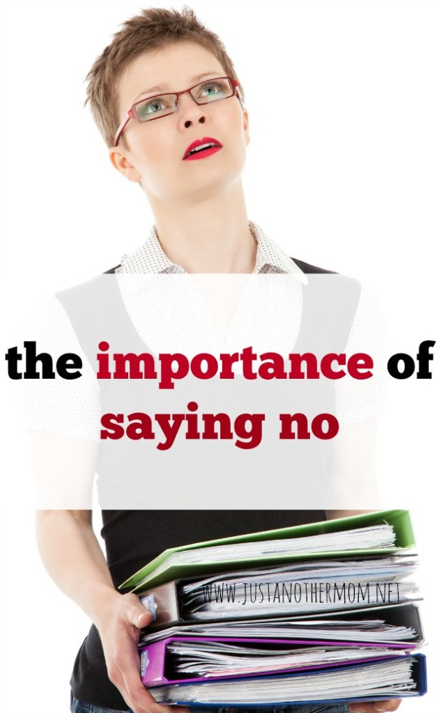 Your time is precious and sometimes it's important to say no. Today we're looking at a few reasons about the importance of saying no.