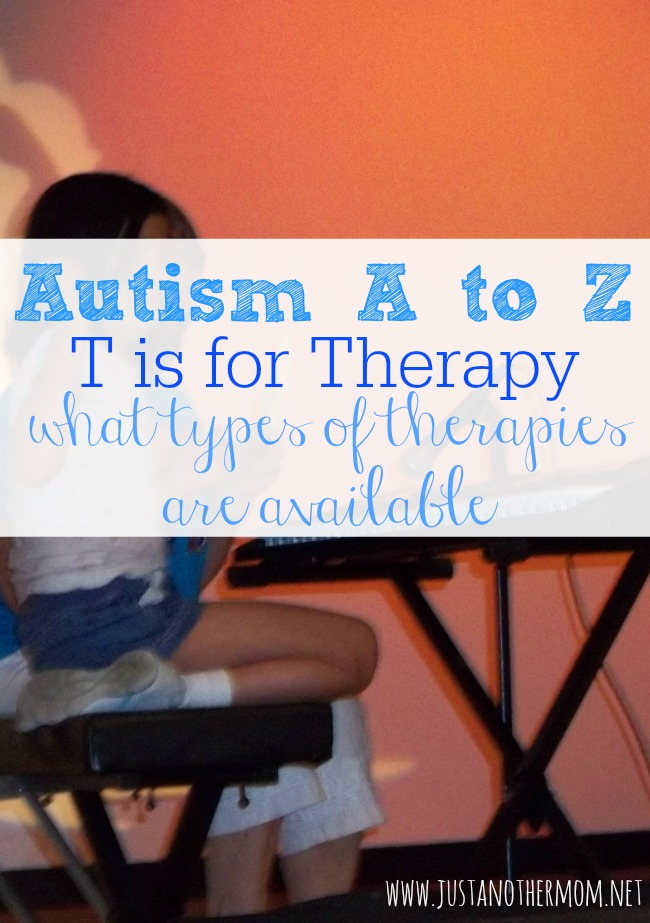As we continue in our Autism A to Z series, today we're going to talk about the types of therapies available.