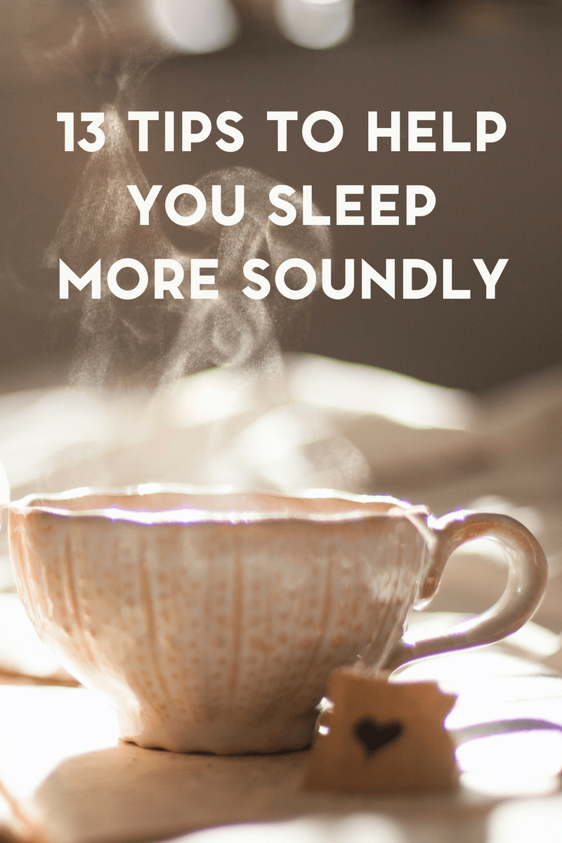 Did you know that sleep is important for your overall health? Here are 13 tips to help you sleep more soundly at night.