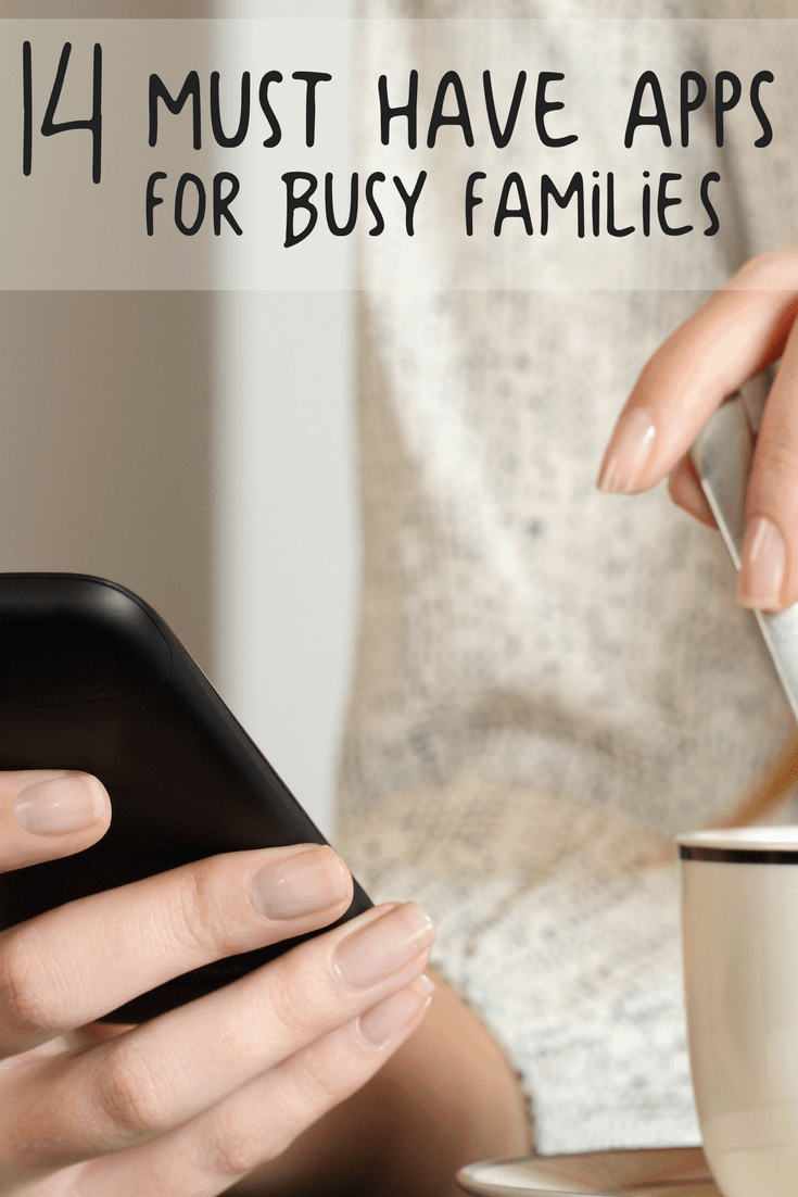 Must Have Apps for Busy Families 1