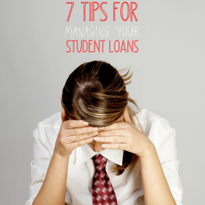 Tips for Managing Student Loans