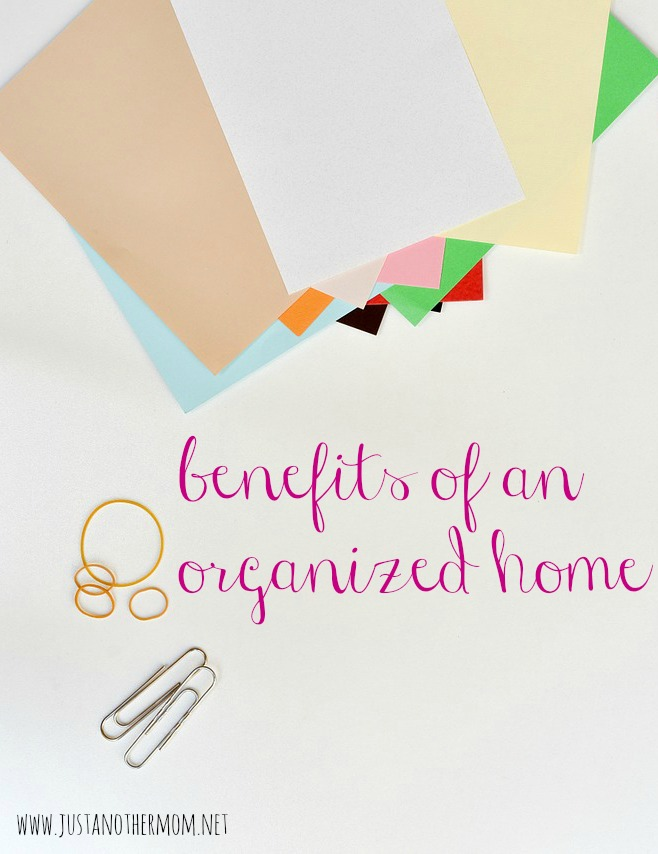 Just what are the benefits of an organized home? We're discussing that today on Tips for the Uninspired Homemaker.