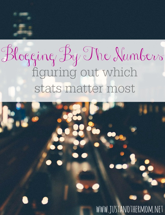 Why do numbers matter when it comes to blogging? And are numbers really that important?