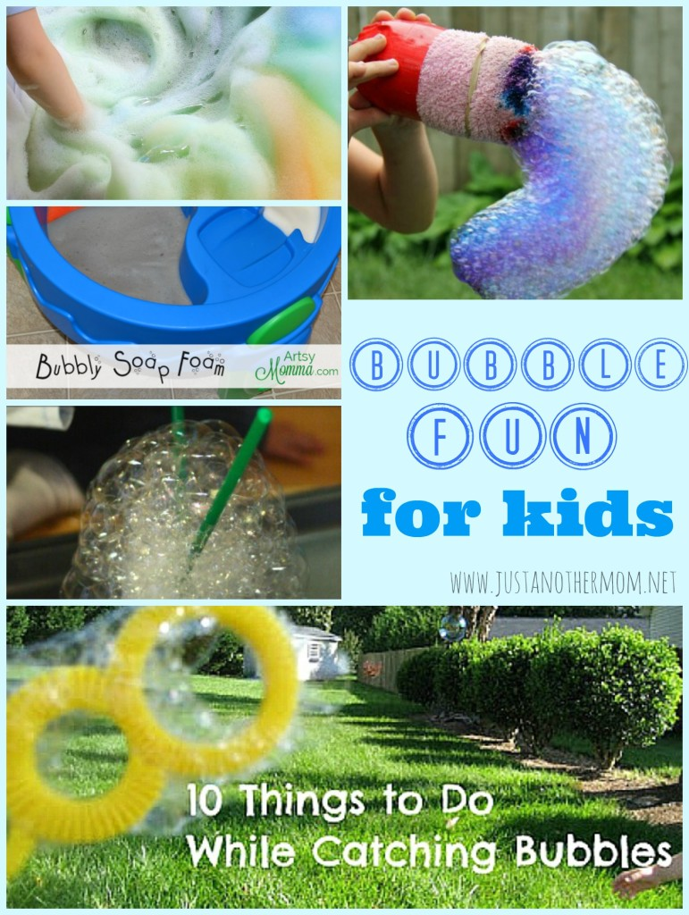 Looking for fun outdoor ideas for all ages? Check out our bubble fun for kids round up!