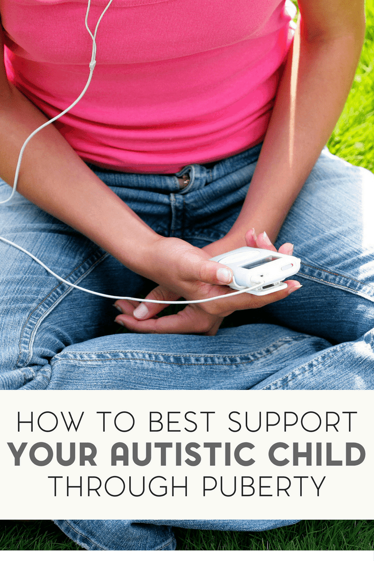 Your autistic child is not going to be a child forever. Here's how to best support your autistic child through puberty.