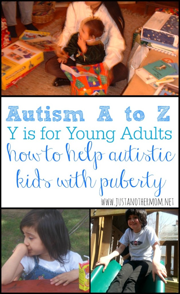 All children will grow up. But how do you handle puberty with autistic kids? Here's a bit of advice.