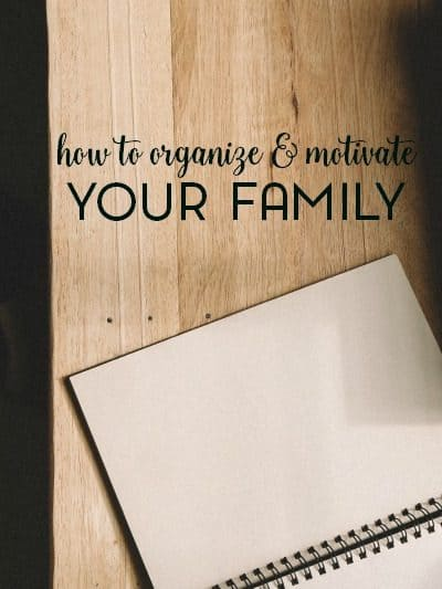 Just because they're kids doesn't mean that they can't help around the house. Let's talk about how to organize and motivate your family to get them involved with housework.