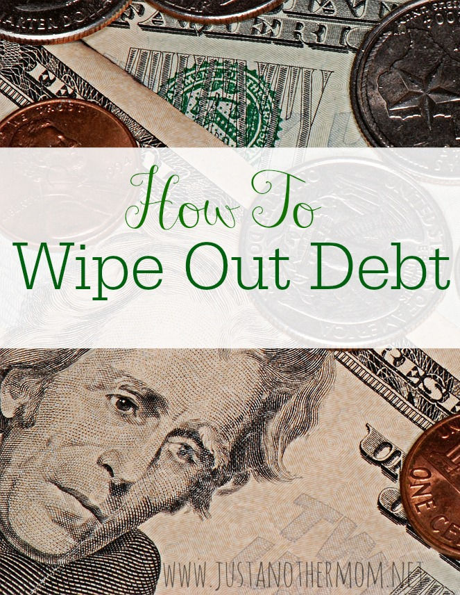 Debt is something that many of us struggle with so I'm sharing my tips and advice for how to wipe out debt once and for all.