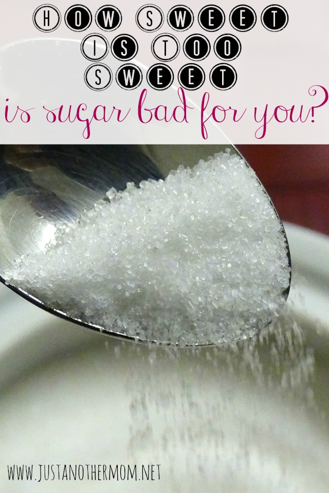 Just how sweet is too sweet? And is sugar bad for you?