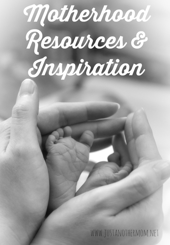 I'm sharing with you my best motherhood resources and inspiration. Because you can never have enough help in this exciting venture.