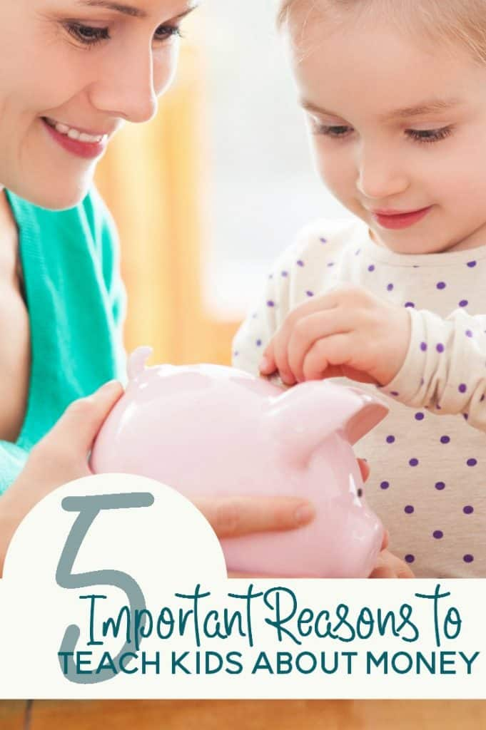 Chances are likely that you were taught the value of a dollar as a child. But why it is so important to teach kids about money?