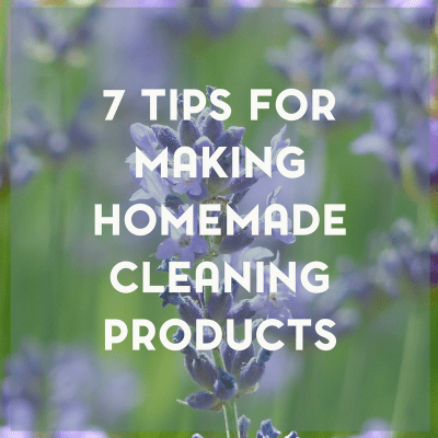 Simple Homemade Cleaning Products