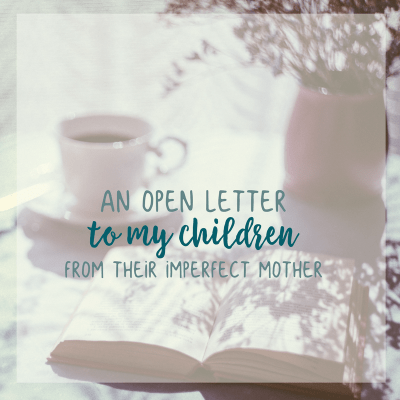 An Apology to My Children