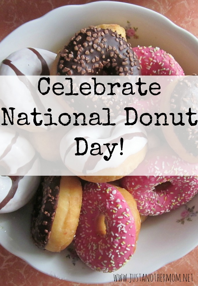 June 5th is National Donut Day and here are some resources to help celebrate!