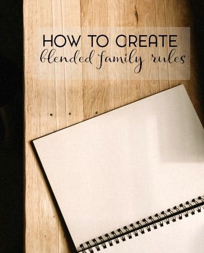 Are you newly remarried after a divorce or are you in a long term relationship after a divorce? Check out my tips for creating blended family rules that everyone can agree on.
