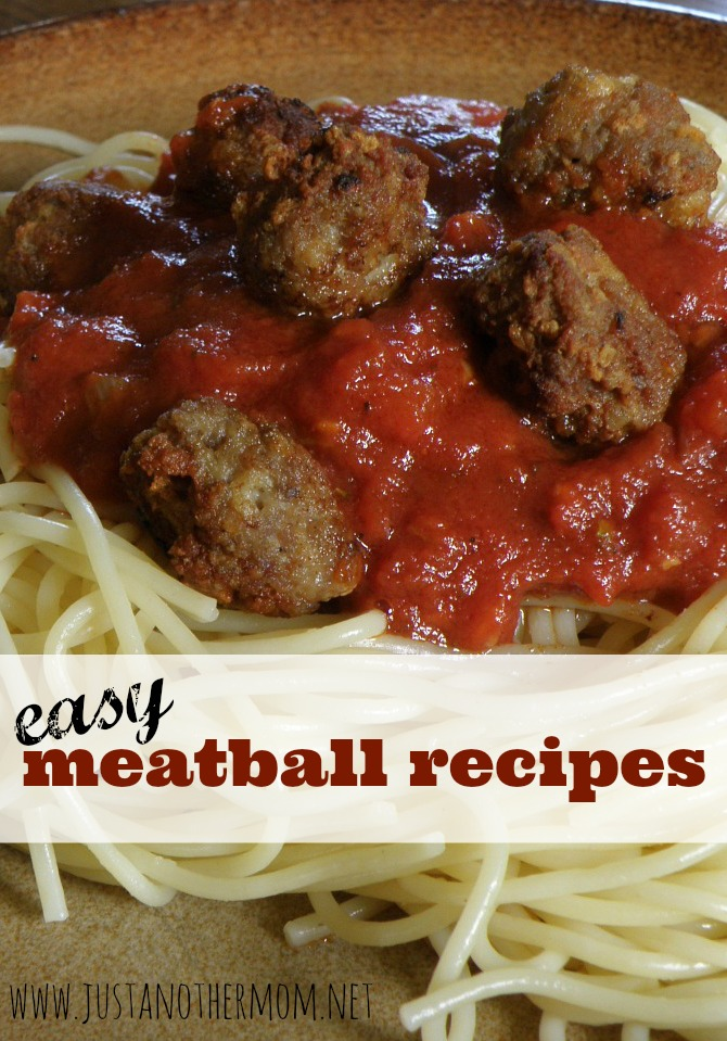 In need of a satisfying meal or appetizer idea? Try one of these easy meatball recipes.