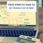 Struggling with debt? Before you seek financial help, take a look at these steps to take to get out of debt yourself.