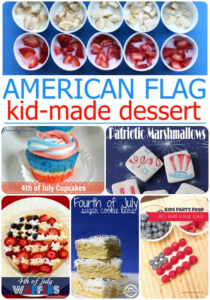 fourth of july for kids recipes