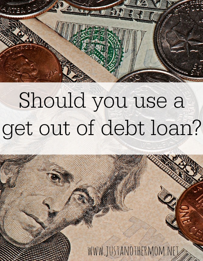 Do you feel like you're drowning in debt? Here are a few things to consider before you take out a get out of debt loan.