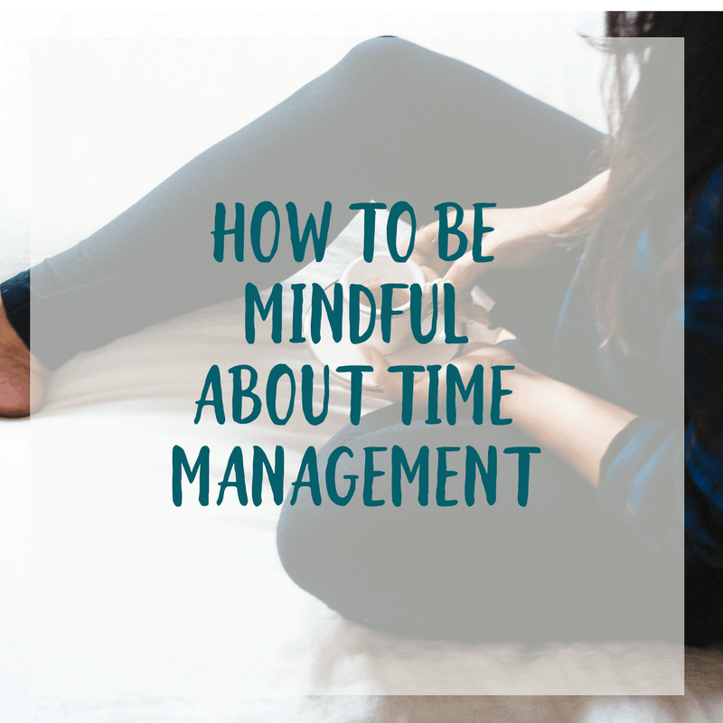 When you are mindful about your time, you become more aware of how you're using your time. Seems simple enough, right? Here are 7 tips for how to be mindful about time management.