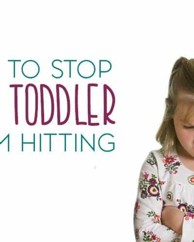 Most toddlers are bound to hit. It's just one of those developmental things. Here are a few tips for how to stop your toddler from hitting repeatedly.