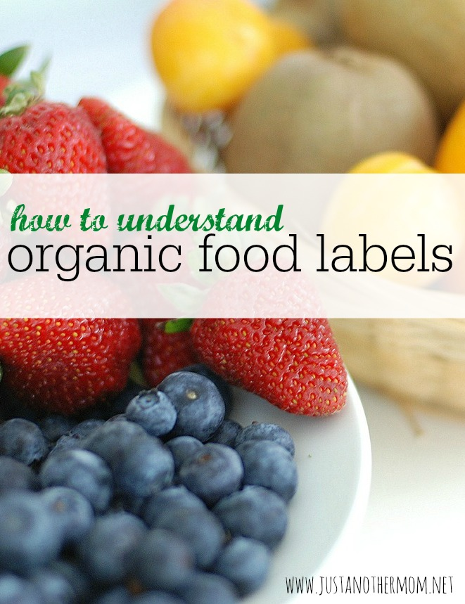Wondering what the difference is on those organic food labels? Today we're discussing how to understand organic food labels to hopefully clear this up.