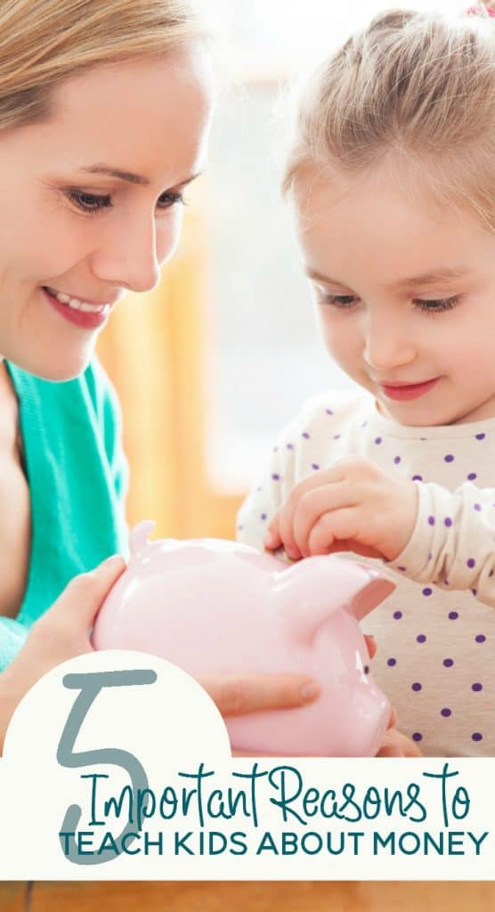 Money makes the world go round, or so the song lyric goes. So shouldn't it be a priority for kids to learn about money? Here are 5 important reasons for kids to learn about money.