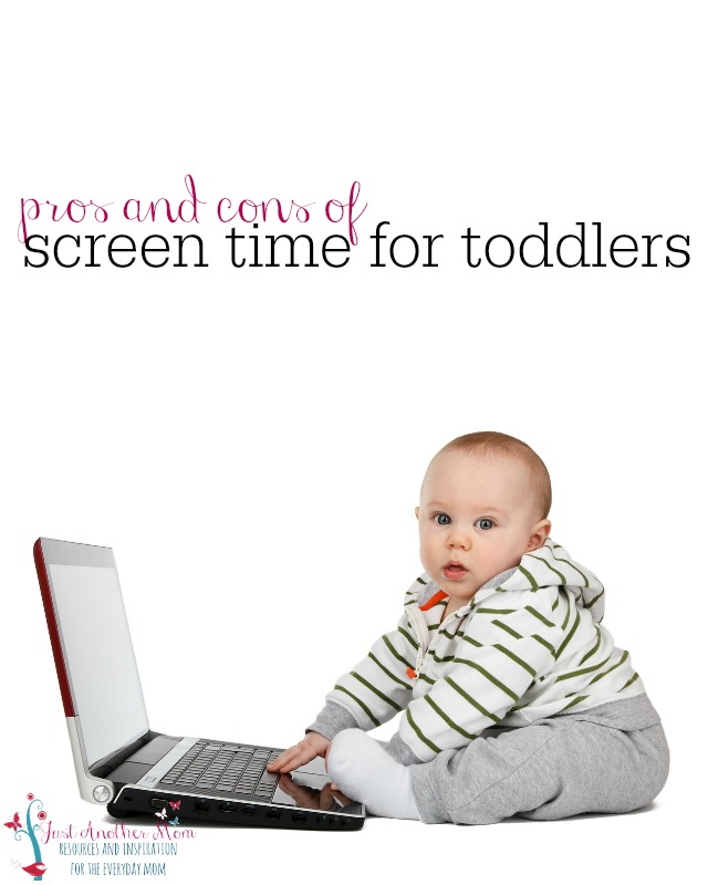 I've struggled with the idea of screen time for my growing toddler. I want her to be engaged, reading books, and playing. That's why I wanted to weigh the pros and cons of screen time for her before making a decision.