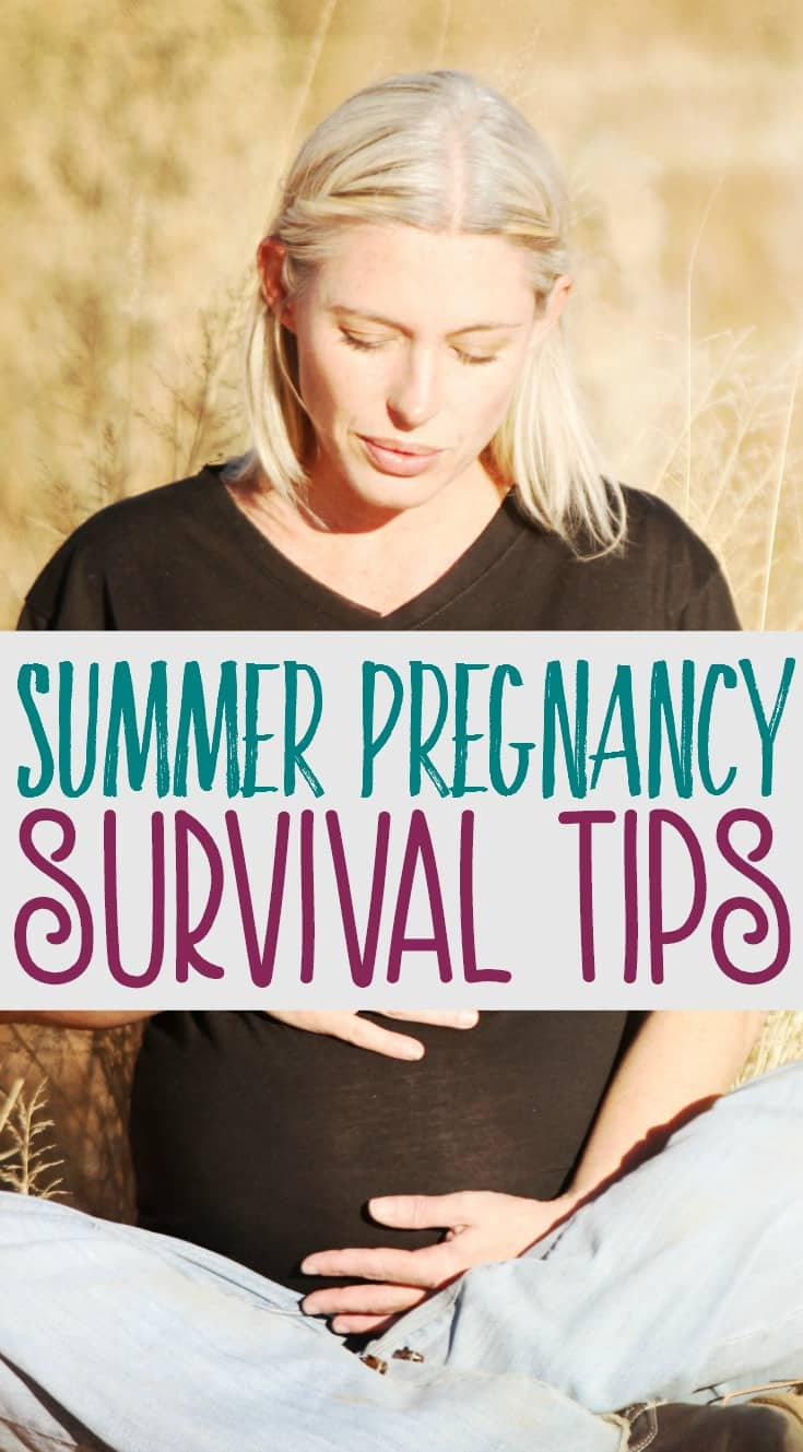 Being pregnant in the summer is not fun, especially when you're in your second or third trimester. Extra weight + sweltering heat = one miserable mom. Here are a few tips for surviving a summer pregnancy.