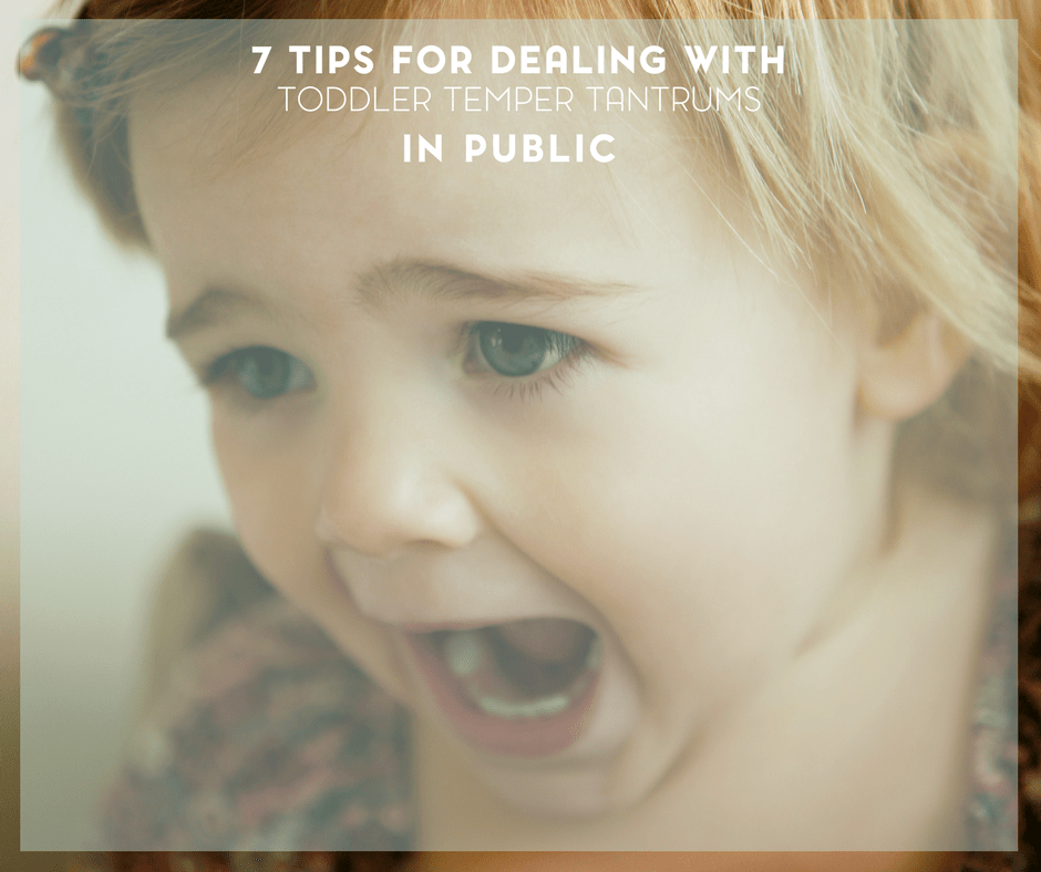 Top Tips for Dealing with Toddler Temper Tantrums 6