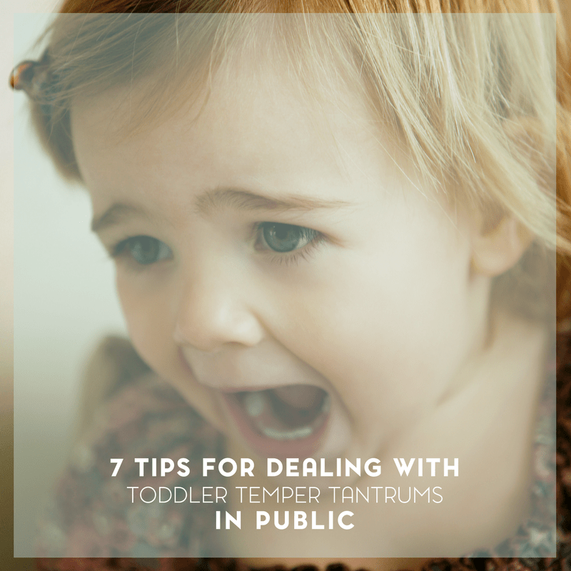Top Tips for Dealing with Toddler Temper Tantrums 3
