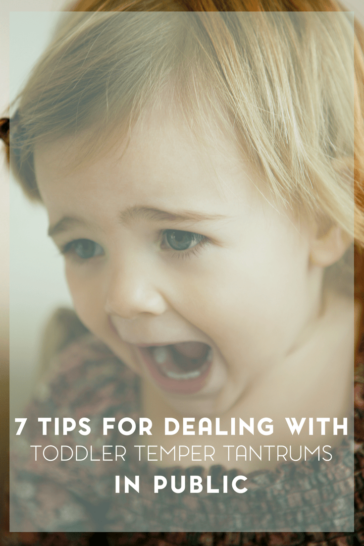 Top Tips for Dealing with Toddler Temper Tantrums 1