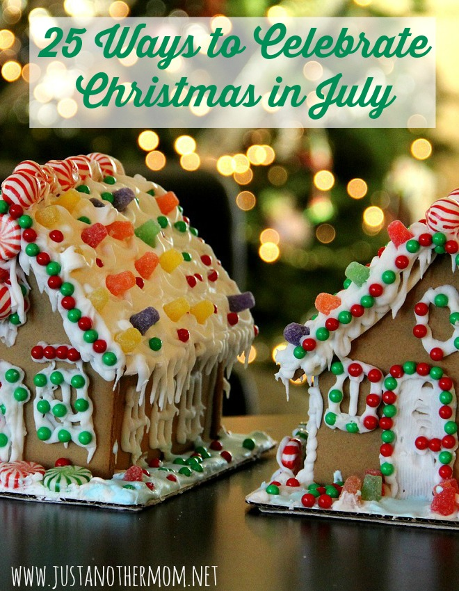 Here are 25 budget friendly ways to celebrate Christmas in July with your family.