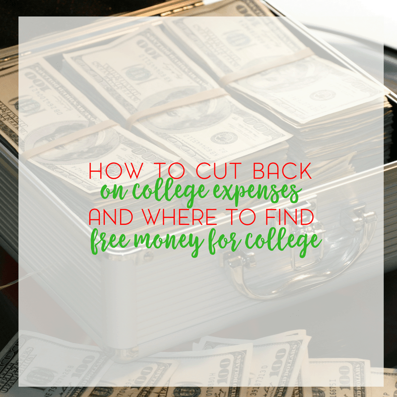 How to Find Free Money for College and Cut Back on College Expenses 1
