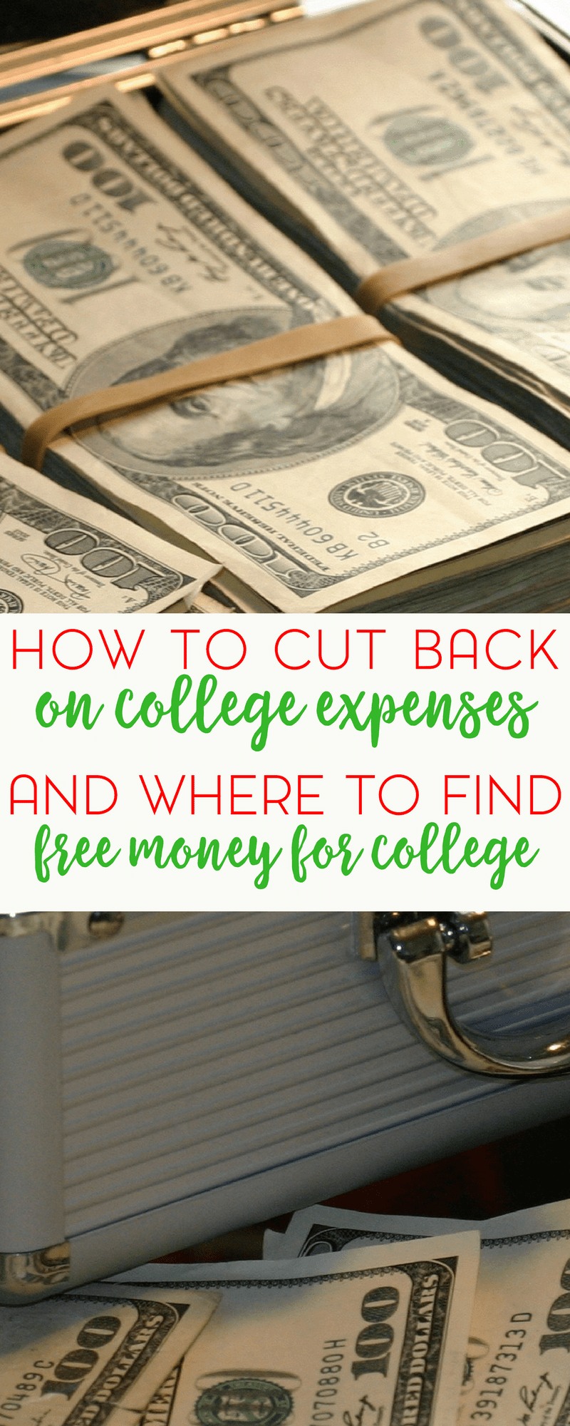 If the thought of paying for college is giving you nightmares, fear not! She's sharing ideas for where to find free money for college.