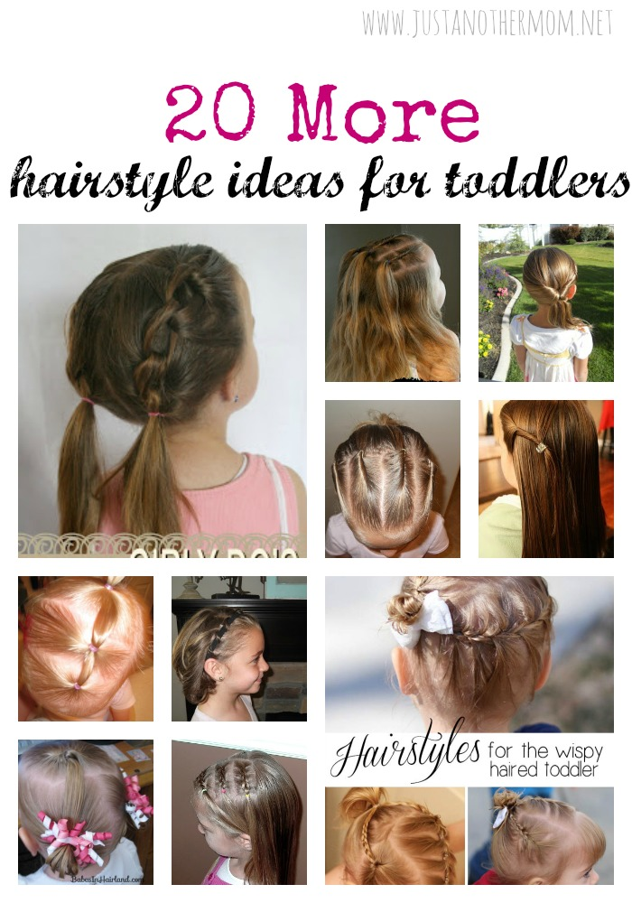 In need of more hairstyle ideas for your toddler girl? I'm sharing even more toddler hairstyle ideas for girls at Just Another Mom.