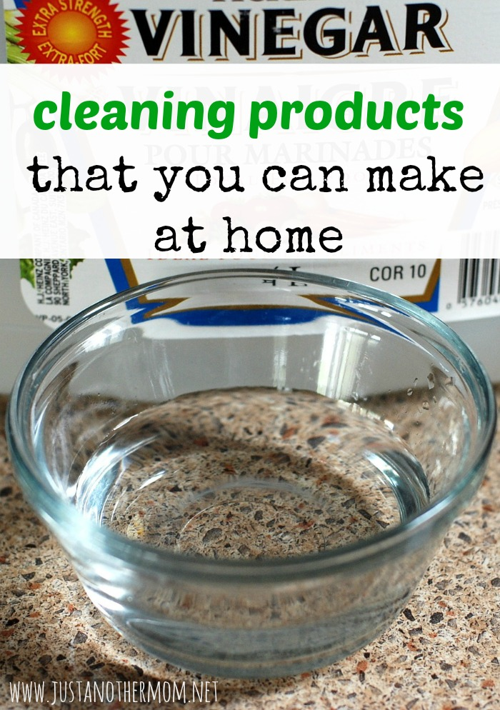 Looking to save money and go green at the same time? Try these cleaning products that you can make at home.