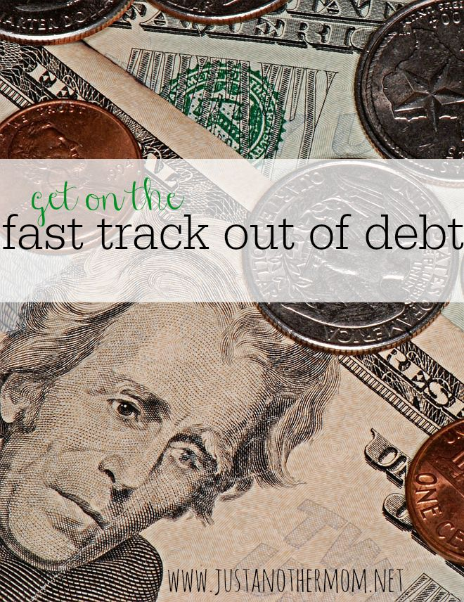 If you've found yourself in debt, you'll probably want to figure out the fastest way to start getting out of it. Here are my tips to help you get on the fast track out of debt.