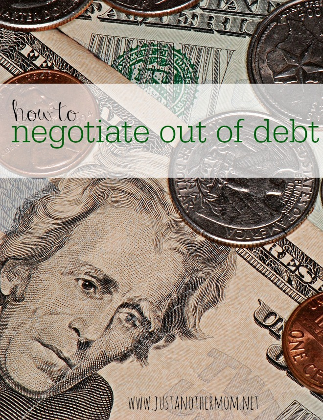 If you find yourself in debt, you are not alone. Here are some strategies for how to negotiate out of debt