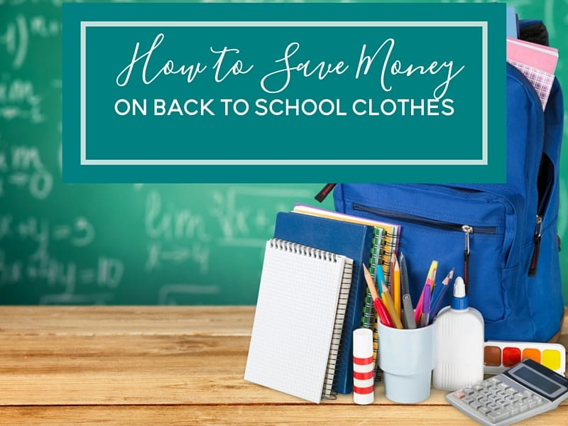 Going back to school can be expensive, from school supplies to new clothes. Here are 7 ways to save money on back to school clothes.