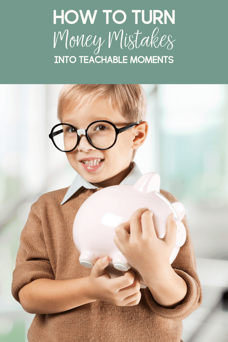 Everyone makes money mistakes. But when kids make them, it's an opportune time to turn money mistakes into teachable moments.