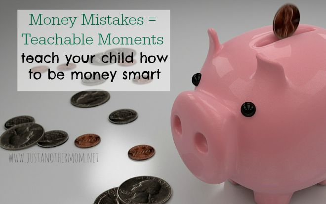 money mistakes are teachable moments