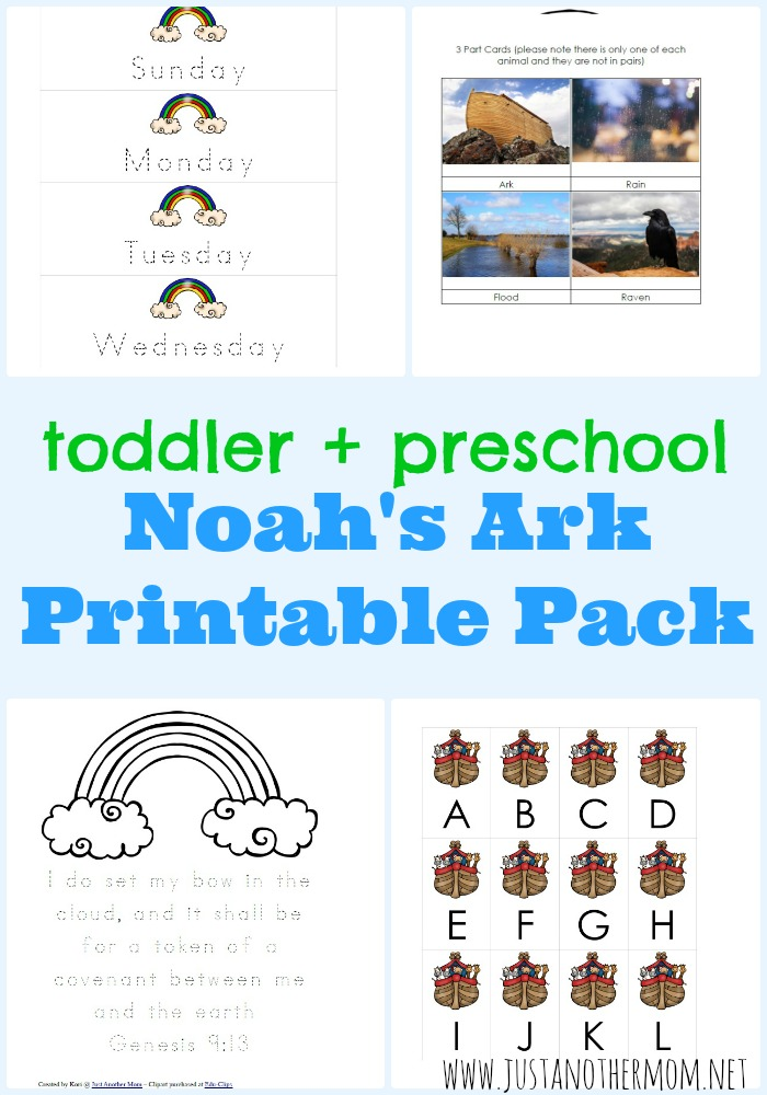 photo relating to Noah's Ark Printable titled Noahs Ark Printable Pack