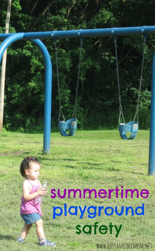 Do you spend a lot of time at the playground during the summer? Check out our summertime playground safety tips. You can also use these tips at any time of the year that you and your family might visit the playground.